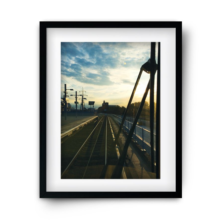 Industrial landscape photography home decor shop online